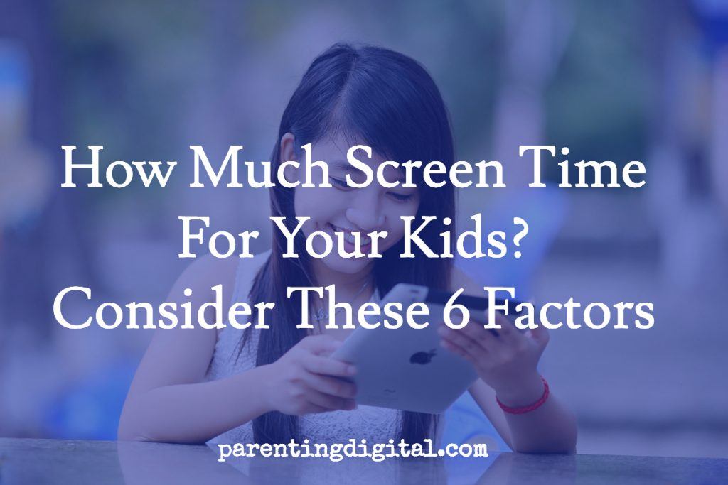 screen time factor