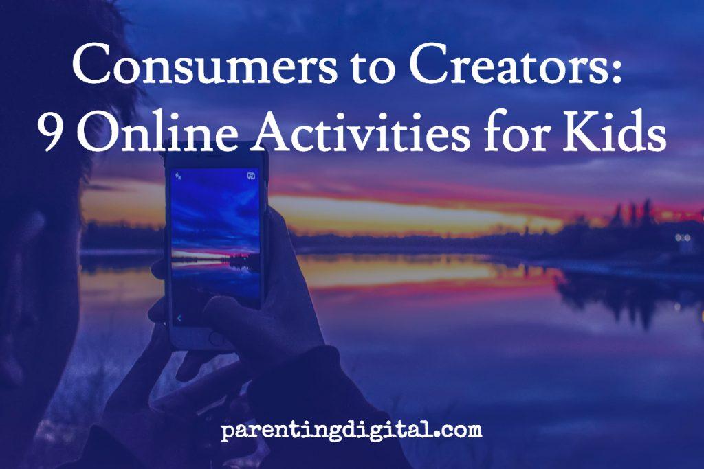 online activities kids