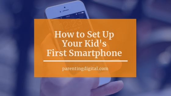 set up first smartphone